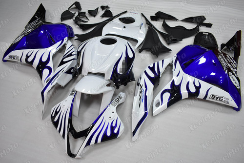 2009 2010 2011 2012 Honda CBR600RR ghost flame fairing