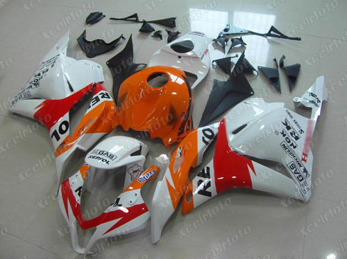 2009 2010 2011 2012 Honda CBR600RR repsol fairings and body kits, Honda CBR600RR OEM replacement fairings and bodywork.