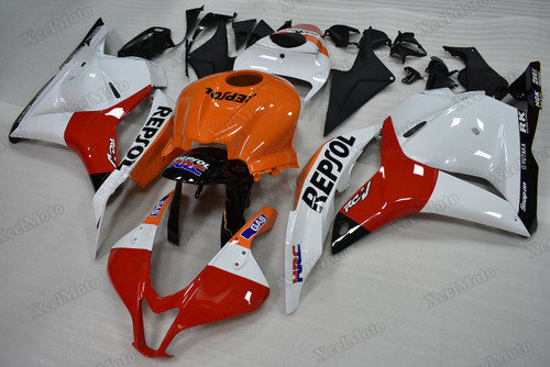 2009 2010 2011 2012 Honda CBR600RR repsol fairings and body kits, Honda CBR600RR OEM replacement fairings and bodywork.