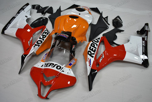 2007 2008 Honda CBR600RR Repsol fairings and body kits, Honda CBR600RR OEM replacement fairings and bodywork.