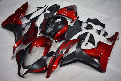 2007 2008 Honda CBR600RR red/black fairings