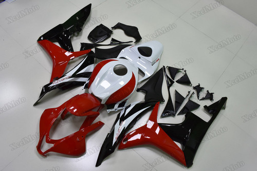 2007 2008 Honda CBR600RR red/white/black fairings