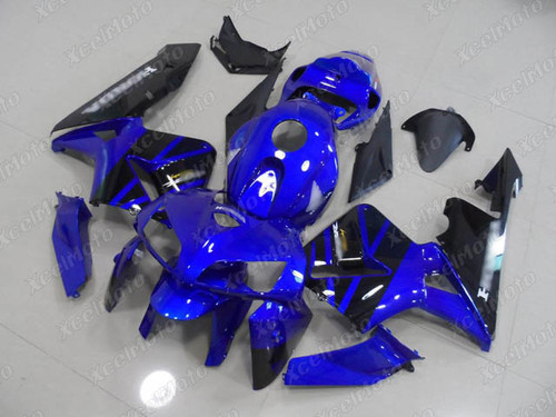 2005 2006 Honda CBR600RR blue/black fairings and body kits, Honda CBR600RR OEM replacement fairings and bodywork.