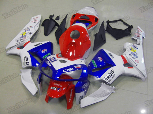 2005 2006 Honda CBR600RR OEM fairings and body kits, Honda CBR600RR OEM replacement fairings and bodywork.