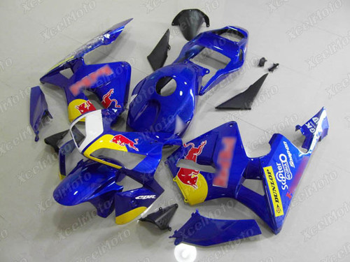 2003 2004 Honda CBR600RR RedBull fairings and body kits, Honda CBR600RR OEM replacement fairings and bodywork.