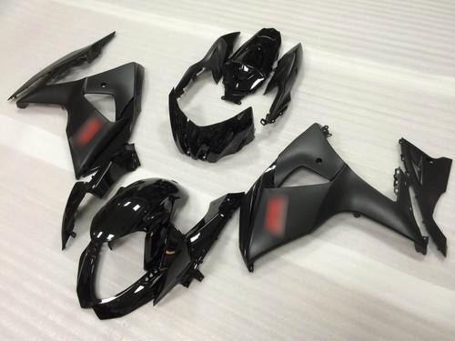 2009 2010 2011 2012 2013 2014  2015 2016 Suzuki GSXR1000 black fairing