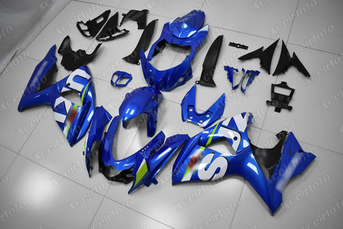 2009 2010 2011 2012 2013 2014 2015 2016 Suzuki GSXR1000 OEM blue fairing