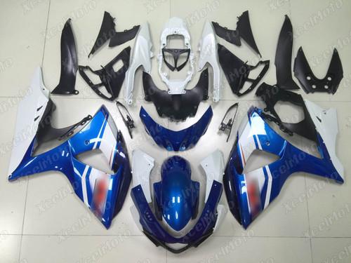 2009 2010 2011 2012 2013 2014 2015 2016 Suzuki GSXR1000 blue fairing