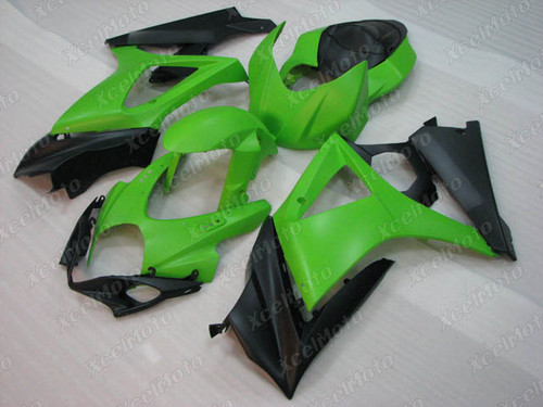 2007 2008 Suzuki GSXR1000 Gixxer green and black fairing kit