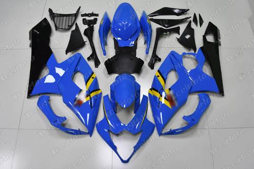 2005 2006 Suzuki GSXR1000 GIXXER K5 K6 blue and black fairing