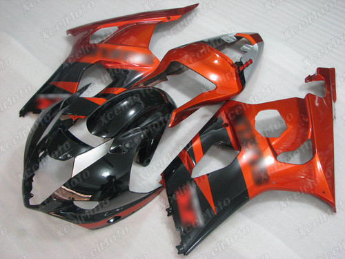 2003 2004 SUZUKI GSXR1000 GIXXER K3 K4 black and orange fairing