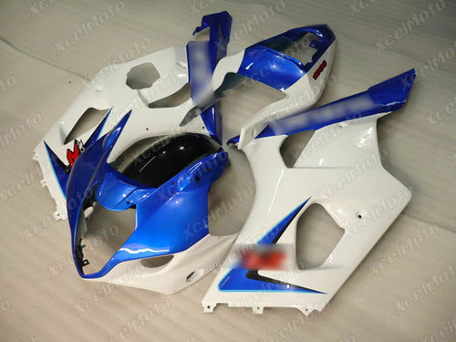 2003 2004 SUZUKI GSXR1000 GIXXER K3 K4 blue and white fairing