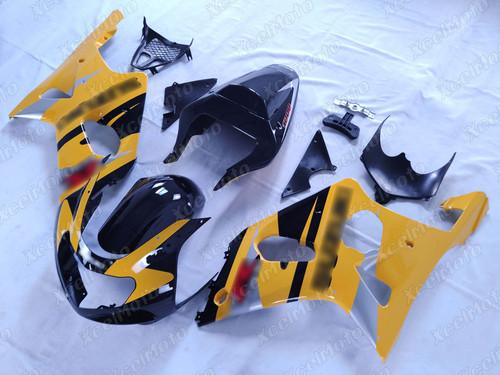 2001 2002 SUZUKI GSXR1000 GIXXER K1 K2 yellow and black fairing