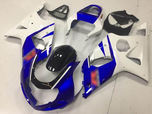 2001 2002 SUZUKI GSXR1000 GIXXER K1 K2 blue and white fairing on sale