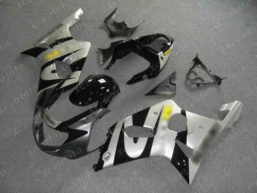 2001 2002 SUZUKI GSXR1000 GIXXER K1 K2 grey silver and black fairing
