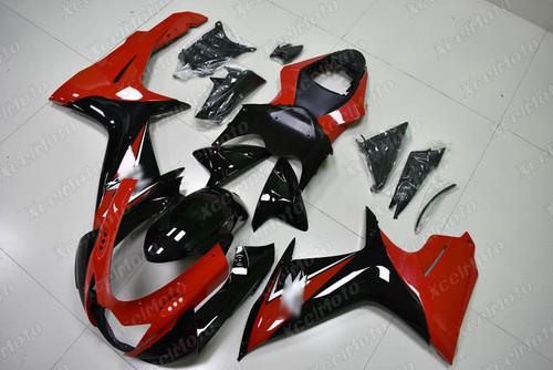 Suzuki GSXR600 GSXR750 OEM fairing red and black