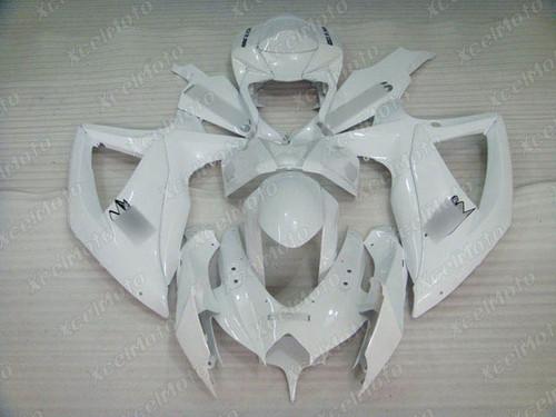 2008 2009 2010 Suzuki GSXR600/750 pearl white fairing