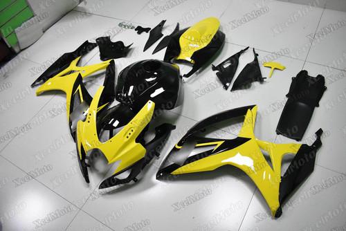 2006 2007 Suzuki GSXR600 GSXR750 yellow and black
