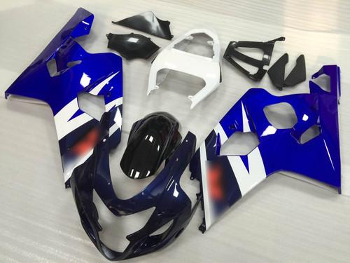 2004 2005 Suzuki GSX-R600 GSX-R750 blue fairing