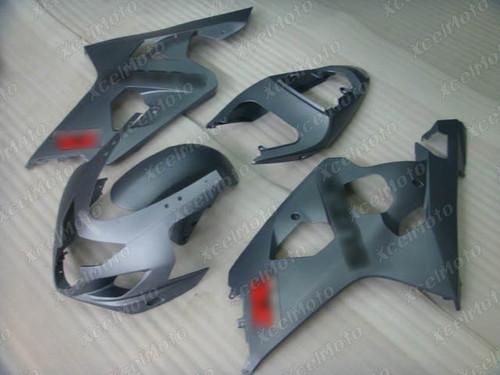 2004 2005 Suzuki GSX-R600 GSX-R750 matte grey fairing