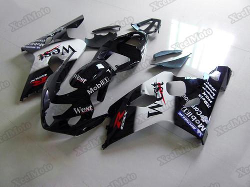 2004 2005 Suzuki GSXR600/750 West fairings and body kits, Suzuki GSXR600/750 OEM replacement fairings and bodywork.