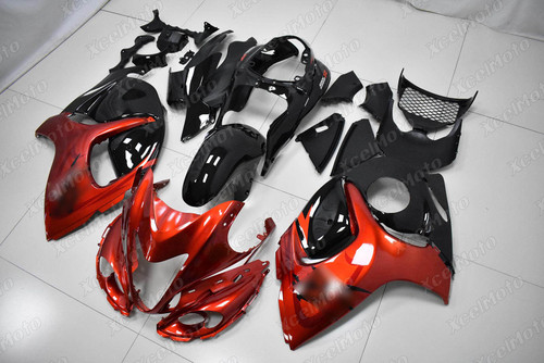 Suzuki Hayabusa GSX1300R OEM fairing orange and black scheme