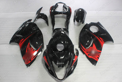 Suzuki Hayabusa GSX1300R gloss black metallic fairing