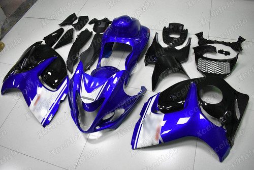 Suzuki Hayabusa GSX1300R OEM fairing blue and black