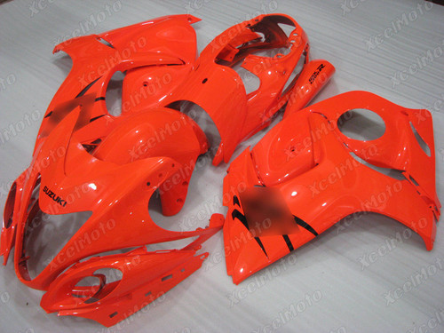 Suzuki Hayabusa GSX1300R bright orange fairing