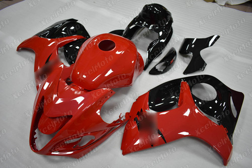 Suzuki Hayabusa GSX1300R red and black fairing
