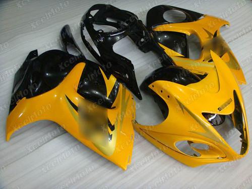 Suzuki GSX1300R Hayabusa yellow and black fairing