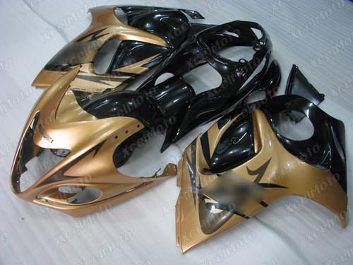 Suzuki Hayabusa GSX1300R gold and black fairing