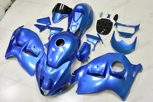 Suzuki GSX1300R Hayabusa blue fairings and body kits, Suzuki Suzuki GSX1300R Hayabusa OEM replacement fairings and bodywork.