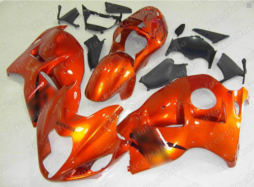 Suzuki GSX1300R Hayabusa orange fairings and body kits, Suzuki Suzuki GSX1300R Hayabusa OEM replacement fairings and bodywork.