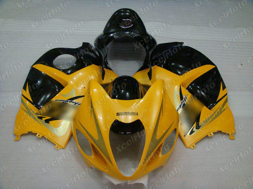 Suzuki GSX1300R Hayabusa yellow and black fairings and body kits, Suzuki Suzuki GSX1300R Hayabusa OEM replacement fairings and bodywork.