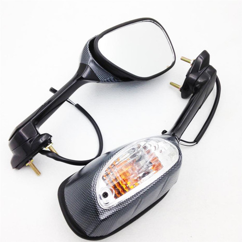 2008 2009 2010 Suzuki GSXR600/750 led turn signal integrated mirrors
