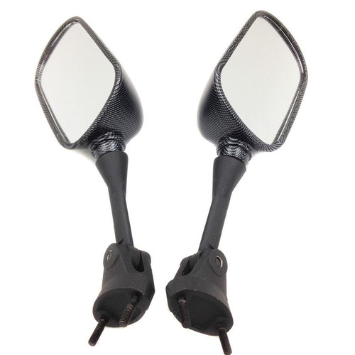 The Motorcycle Mirrors is manufactured to 2004 2005 Kawasaki Ninja ZX10R and designed to look exactly like your O.E.M. mirrors.