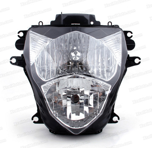 Motorcycle headlight/headlamp assembly kit for 2011 2012 2013 2014 2015 Suzuki GSX-R 600/750.