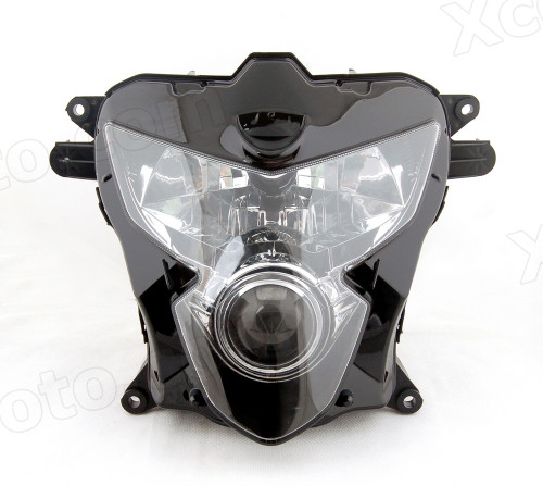Motorcycle headlight/headlamp assembly kit for 2004 2005 Suzuki GSX-R 600/750.