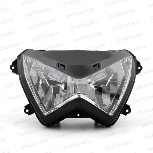 Motorcycle headlight/headlamp assembly kit for Kawasaki Z300/Z250.
