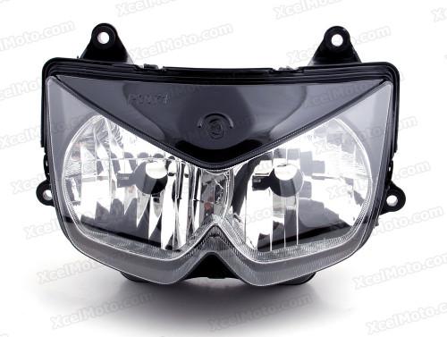 Motorcycle headlight/headlamp assembly kit for 2004 2005 2006 Kawasaki Z750.