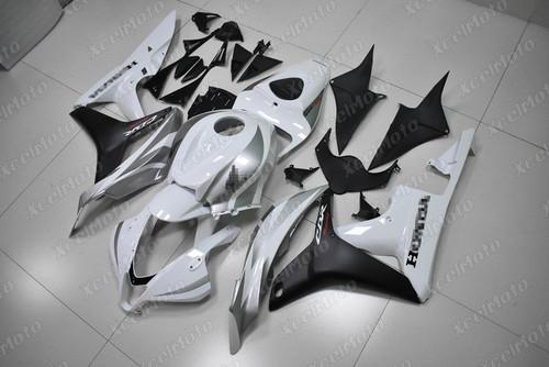 2007 2008 Honda CBR600RR white and black fairing