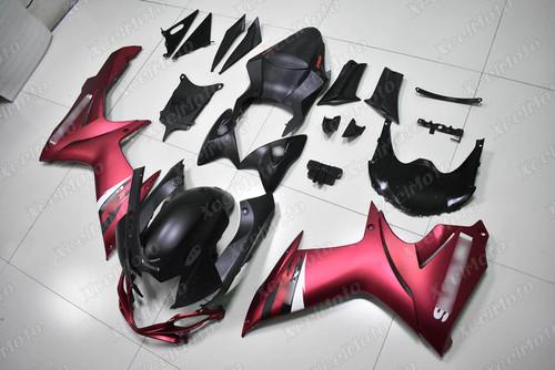 2011 to 2018 2019 2020 Suzuki GSXR 600/750 pink and black fairing