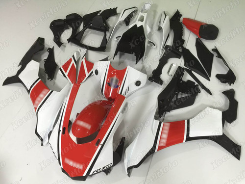 2015 2016 2017 2018 2019 YAMAHA R1 red white and black fairing