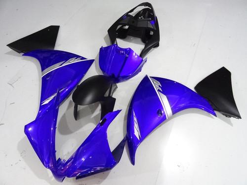 2012 2013 2014 Yamaha R1 blue and black bodywork