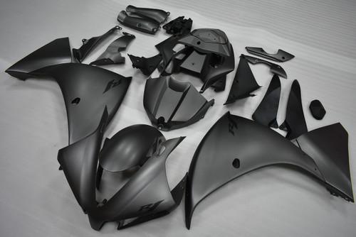 2012 2013 2014 Yamaha R1 matte black fairings.