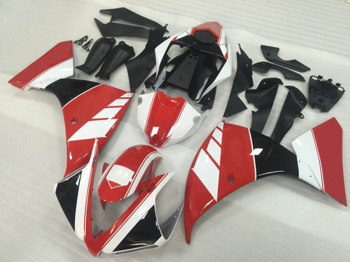 2012 2013 2014 YAMAHA R1 red and white fairing