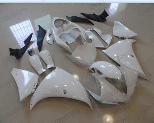 2012 2013 2014 Yamaha R1 pearl white fairings and body kits