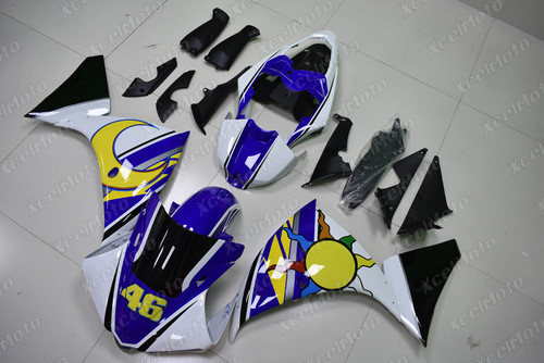 2009 2010 2011 YAMAHA R1 custom fairing