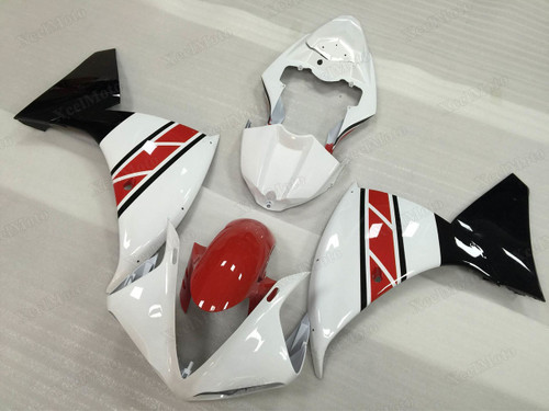 2009 2010 2011 Yamaha R1 50th Anniversary color scheme fairings